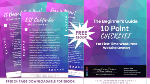 Free 10 Point Checklist For First Time WordPress Website Owners