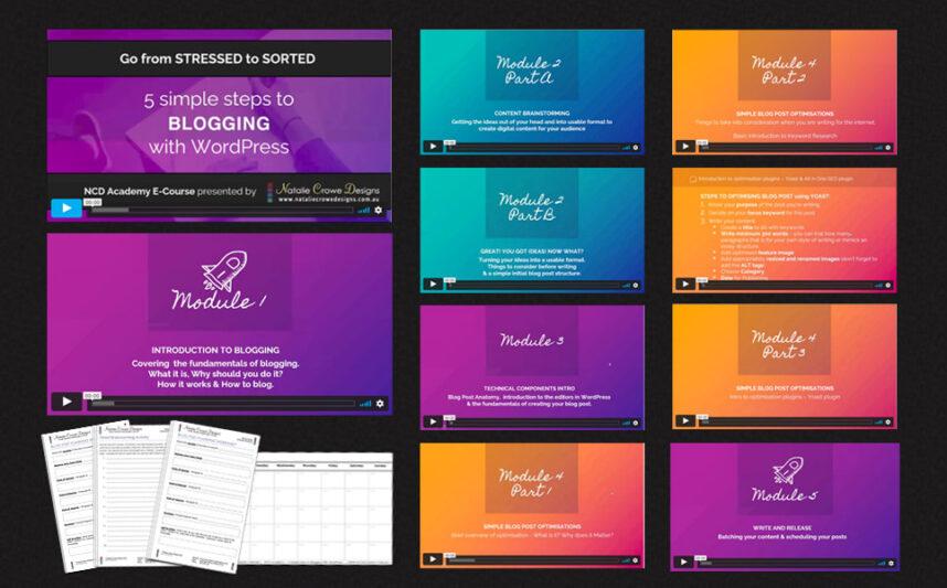 Wordpress blogging course for beginners | Web Design Hunter Valley