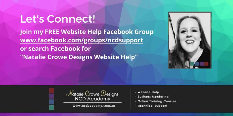 Free Website Help Facebook Group