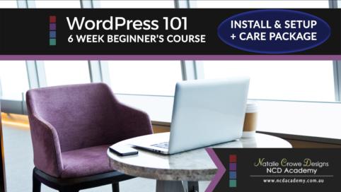 WordPress 101 + Install & Setup Care Package